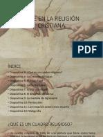 Cuadros relacionados con la fe y religión cristiana