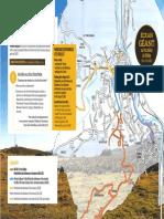 Le plan d'accès de la ville de Foix pour le 21 juillet