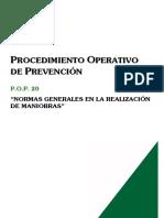 Pop020-Normas Generales Realizacion Maniobras