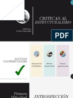 Criticas Al Estructuralismo