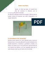 ROBOT QUE PINTA Cuaderno de Campo