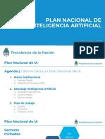 Plan Nacional IA