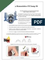 Sistema Hemostatico ITClamp 50