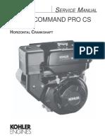 Manual Kohler Command Pro 15