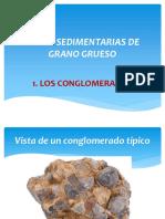 Rocas Sedimentarias de Grano Grueso