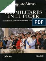 Augusto Varas_el Regimen Militar en El Poder 1973-1986