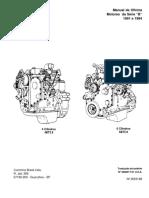 Motor 4 e 6 cilindro