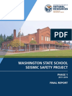 School Seismic Safety Project 2019 Final Report DNR
