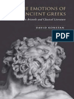 The Emotions of the Ancient Greeks