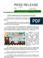 DND-OPA - Press Release - DND 71st Anniversary - 8 November 2010