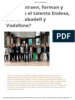 Como Atraen Talentos Vodafone y Endesa