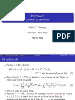 Matematica mai speciala