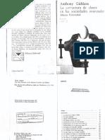 Giddens_La Estructura de Clases en Las Sociedades Avanzadas_cap1 y 2