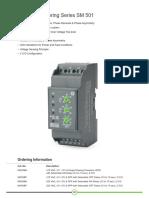 Voltage Monitoring Series SM 501