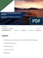 Rise of Chinese Global Terminal Operators