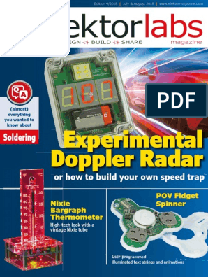 Elektorlabs Magazine USA - July, August 2018 | Amplifier