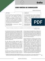 Artículo Académico Revista Páginas - La Forma Como Vehículo de Comunicación
