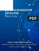 eBook BRZ SAP Localization