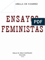 ENSAYOS FEMINISTAS