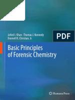 Basic Principles Forensic Chemistry