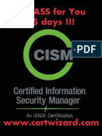 How to Become ISACA CISM Certified in 5 Days