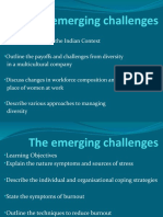 The Emerging Challenges Ob2