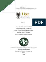 informe materialización de cuadricula (topografía)