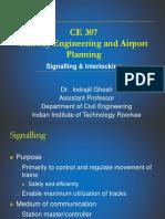 CEN 307 Signaling & Interlocking