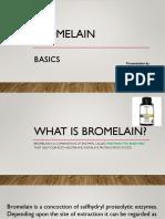 Bromelain Basics