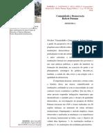 Comunidade e Democracia Robert Putnam - Resenha
