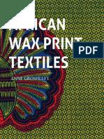 African Wax Print Textiles (muestra)