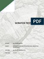 Scratch Test