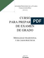 Curso Para Preparación de Examen de Grado - Tomo I - Imp 1