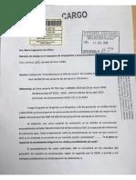 Carta de FAP Bruno Papi a la Ministra del MTC