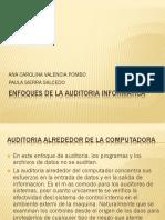 Enfoques de La Auditoria Informatica