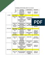 Semana de Desarrollo Institucional Junio 17 Al 21 de 2019