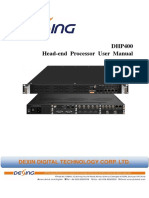 DHP400 Head-End Processor User Manual 2018.10.19