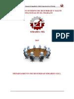 Reglamento Interno de Seguridad -Simareg 2015