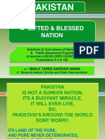 pakistan a blessed nation