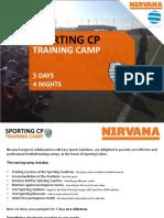 Sporting Lisbon Training Camp Nirvana Europe