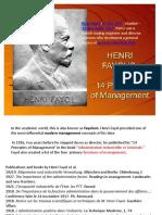 14 Principles of Mgt