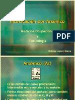 Intoxicación por Arsénico
