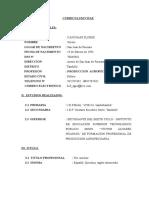 Curriculum Vitae- Hector