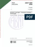 Abnt Nbr 6599 (2013) - Processos e Produtos Terminologia