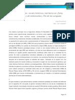Experimentaci-ªn Novela Hist-ªrica y Territorios Jorge Bracamonte