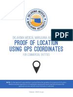 OMMA - Instructions for Commercial Entities - Proof of Location Using GPS Coordinates