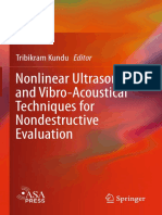 Tribikram Kundu - Nonlinear Ultrasonic and Vibro-Acoustical Techniques for Nondestructive Evaluation-Springer International Publishing (2019)
