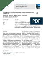 Bond Behavior of Concrete-filled Steel Tube Columns Using Manufactured Sand (MS-CFT)