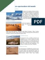 7 Desiertos Más Espectaculares Del Mundo