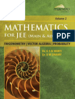 Wiley s Mathematics for IIT JEE Main and AdvancedTrigonometry Vector Algebra Probability Vol 2 Maestro Series Dr. G S N Murti Dr. U M Swamy ( PDFDrive.com ).pdf